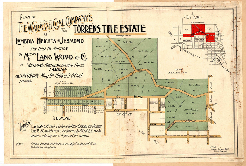 The Torrens Title System First State Conveyancing